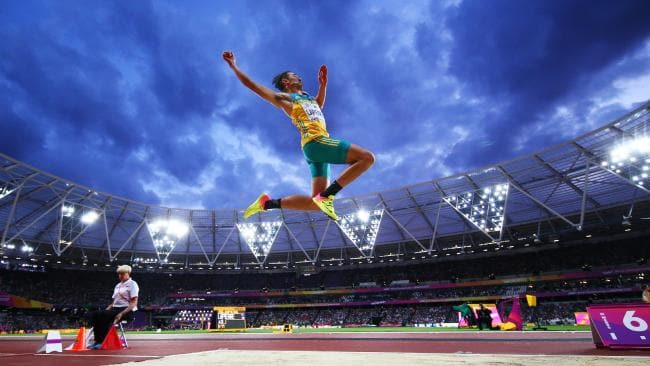 Four Parts of a Successful Long Jump